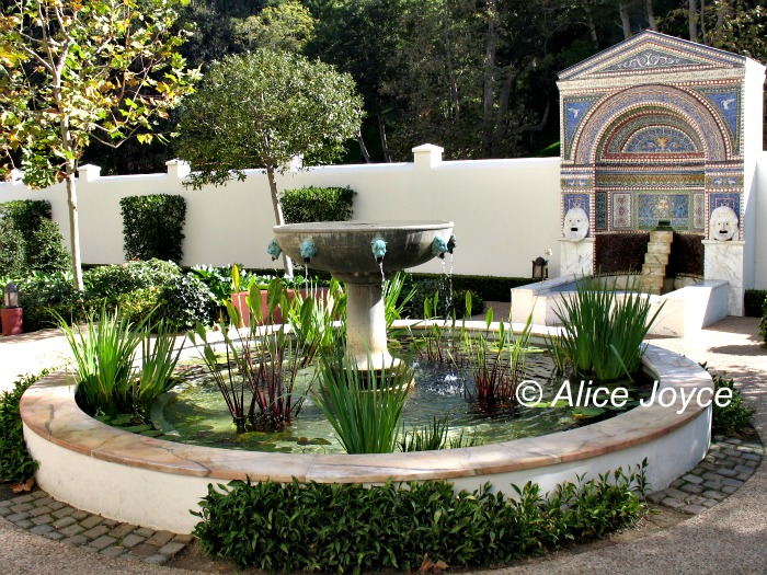Getty Villa, East Garden, Malibu, California « Alice\'s Garden Travel ...