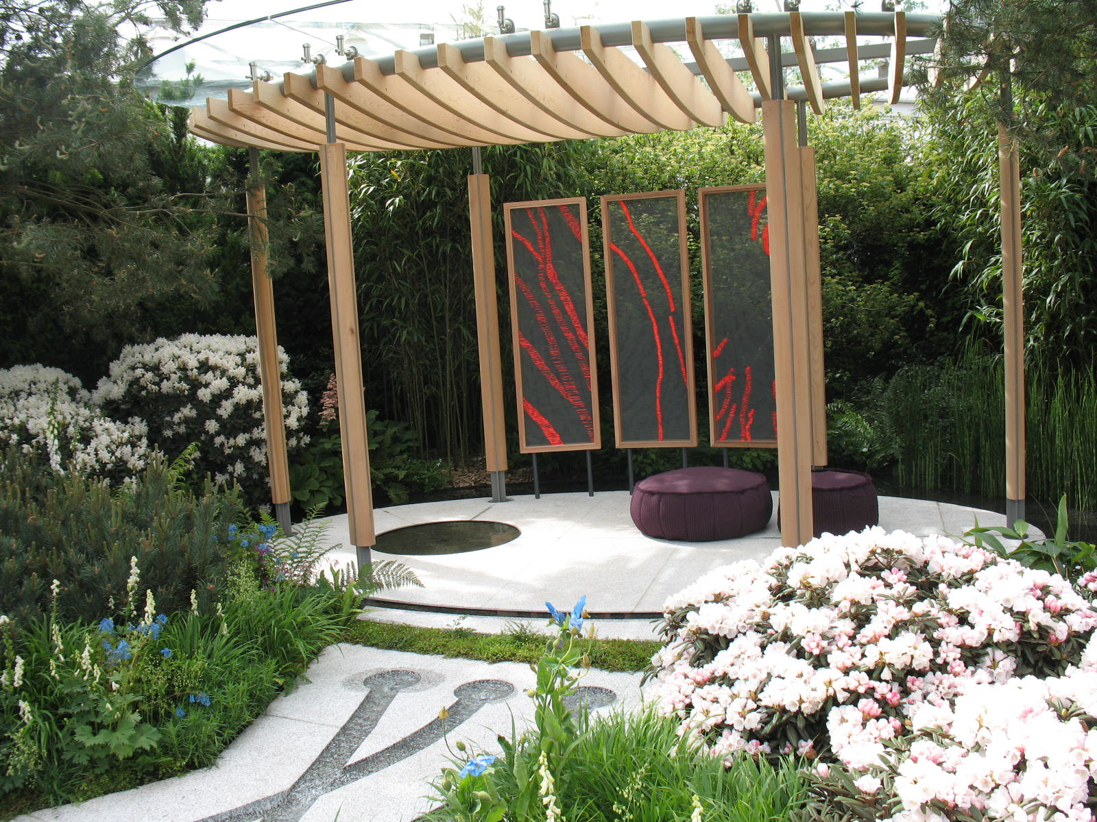 Islamic Gardens And Landscapes Alices garden travel buzz cornish memories garden pavilion photo alice joyce workwithnaturefo