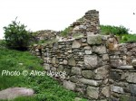 Irish Hunger Memorial wall brickwork Photo © Alice Joyce