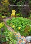 Alice Joyce Garden Mosaic Path Photo © Alice Joyce