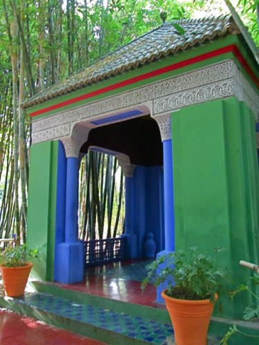 Jardin Majorelle Pavilion © Alice Joyce